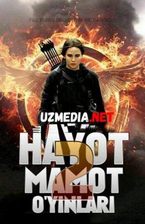 HAYOT MAMOT O'YINLAR 2 / ГОЛОДНЫЕ ИГРЫ 2 Uzbek tilida O'zbekcha tarjima kino 2019 HD tas-ix skachat